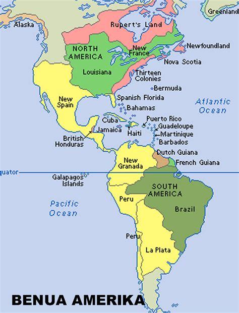 Atlas Global Besar peta amerika world map weltkarte peta dunia mapa