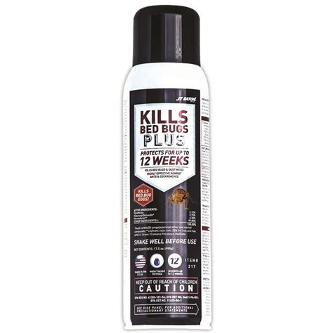 jt eaton kills bed bugs   oz aerosol water based insect spray   home depot