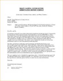 Report Letter Sample 10 Format Of Report Letter Incident Report Template