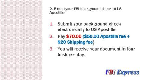 Expedited Fbi Background Check How To Quickly Apostille Fbi Background Check