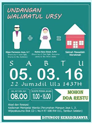 Undangan Minimalis Karikatur 17 undangan pernikahan unik melalui media sosial undangan lewat bbm whatsapp dan