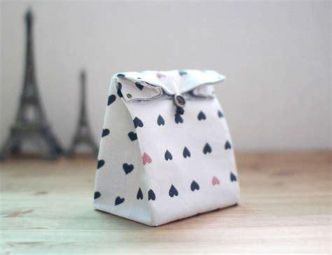 Pouch Kotak Handmade Canvas como fazer saquinho para presente tecido