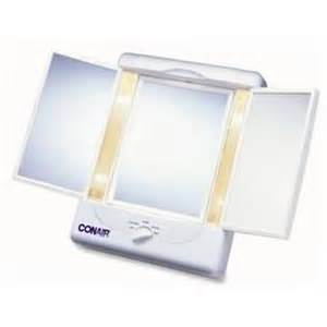 Makeup Mirror With Lights Sears Conair Lighted Make Up Mirror