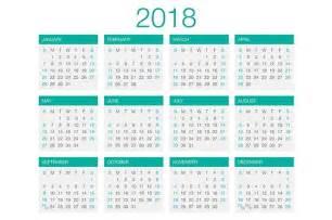 Tanzania Calendã 2018 Calendar Vector 2018 Stationery Templates Creative Market