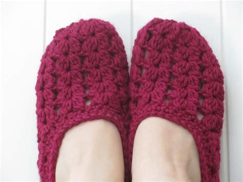 crocheted slipper patterns s boutique free pattern seaspray slippers plus