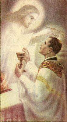 jesus  priest  mass holy card