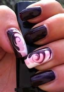 Nail Art Swirls