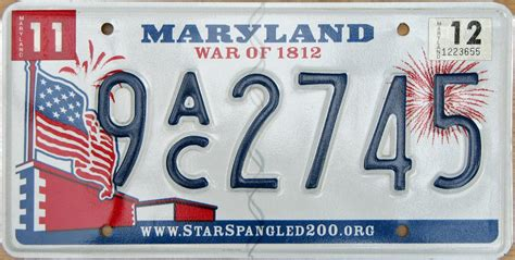 Vanity Plates Maryland by Maryland 3 Y2k