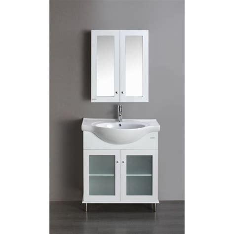 Porcelain Bathroom Vanity by Transitional 24 Inch White Bathroom Vanity With White Integrated Porcelain Sink