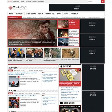 35 Free Responsive Wordpress Magazine Themes Theme Free Responsive Magazine