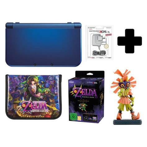 new nintendo 3ds xl metallic blue majoras mask 3d special edition nintendo uk store