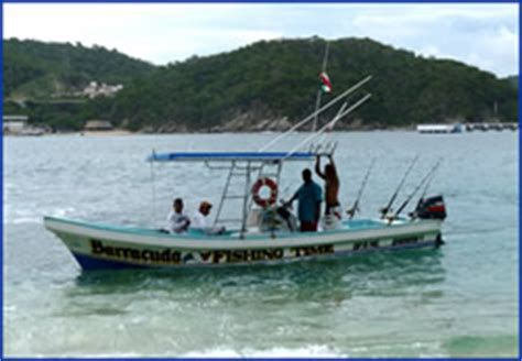 deep sea fishing in small boat fishing charters in huatulco mexico sportfishing rates