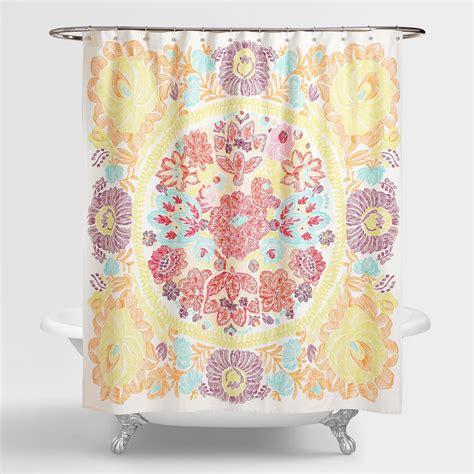 world market shower curtain rachel shower curtain world market
