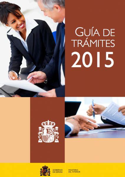 ministerio interior asociaciones gu 237 a de tr 225 mites 2015 del ministerio del interior