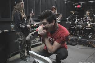 Carlile And Mitch Lucker Carlile Of Mice And Silence Mitch