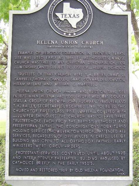 Helena, Texas Ghost Town, First Karnes County Seat. Helena Tx History