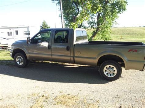 crew cab long bed sell used 2006 ford f250 fx4 6 0 crew cab long bed in