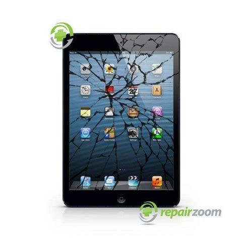 ipad mini cracked glass screen repair repairzoom