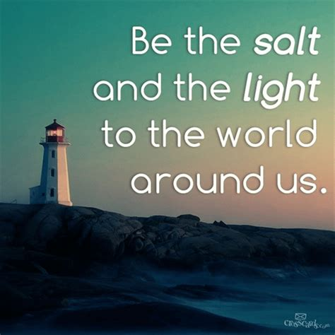 salt and light bible your daily verse be the salt and the light to the