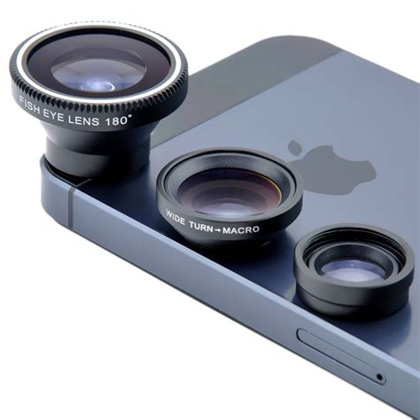 iphone lens magnetic fish eye wide angle macro lens suit for iphone 4s 5s 5c 6s 6 plus dc126