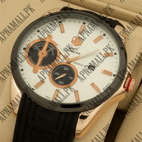 watches tag heuer pendulum white limited edition