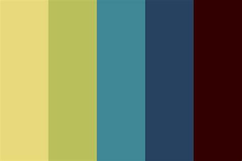 strange colors incredibly strange color palette