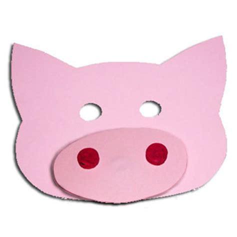 Masque De Cochon En Papier T 234 Te 224 Modeler