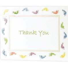 City Thank You Cards Baby Shower