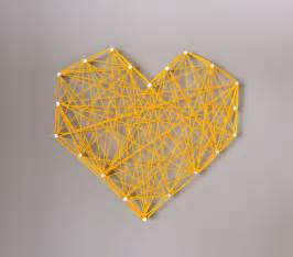 Heart Decorations For The Home by Diy Threaded Heart Wall Art Handmade Charlotte