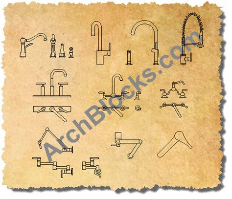Kitchen Sinks Designs Autocad Plumbing Block Library Autocad Block Of Shower