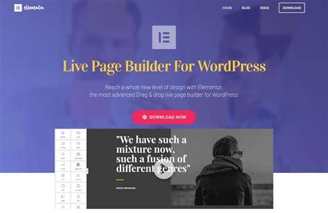 best layout builder wordpress live page builder for wordpress