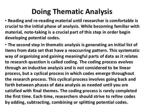 creating themes qualitative research thematic analysis