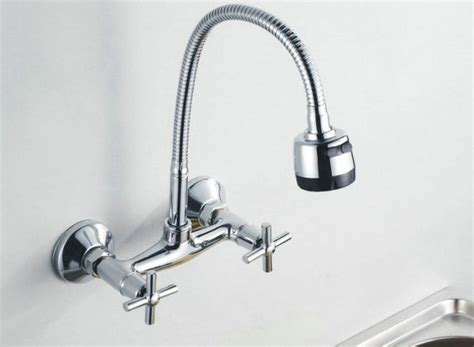 wall mounted kitchen sink faucets how to choose the best wall mount kitchen faucet kitchen