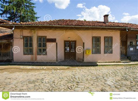 Bg Post Office by Post Office In The Balkan In Bulgaria Editorial