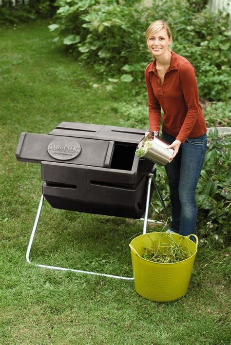 Gardeners Supply Compost Tumbler Compost Tumbler
