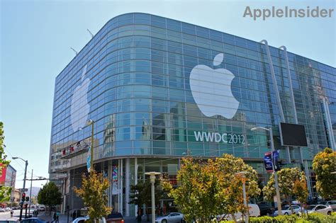 apple company wwdc 2012 banners depict ios 6 os x icloud as stars of