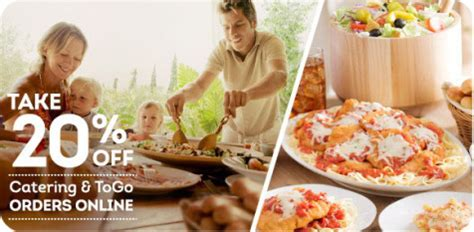 olive garden coupons july 2015 olive garden 20 off online to go orders passionate