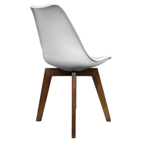 Dining Chairs Only Only Design White Dining Chair With Cross Style Walnut