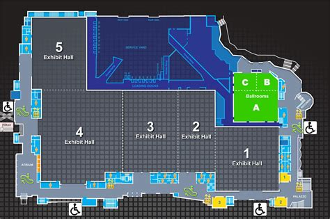 austin convention center floor plan for all attendees 2013 ams annual meeting