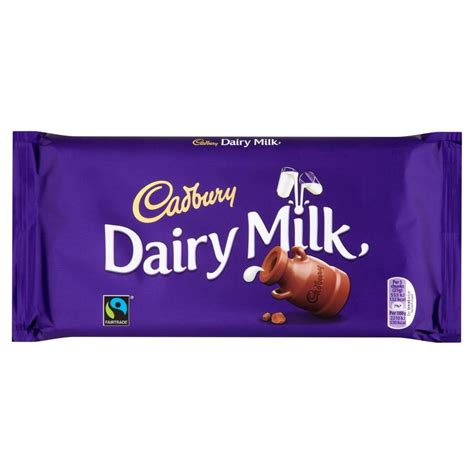 Fairtrade Hub On Ebay by Cadbury Fairtrade Dairy Milk Chocolate Bar 200g Ebay