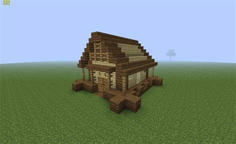 Minecraft Construire Une Maison 1919 by Maison Simple Tuto Minecraft Doovi