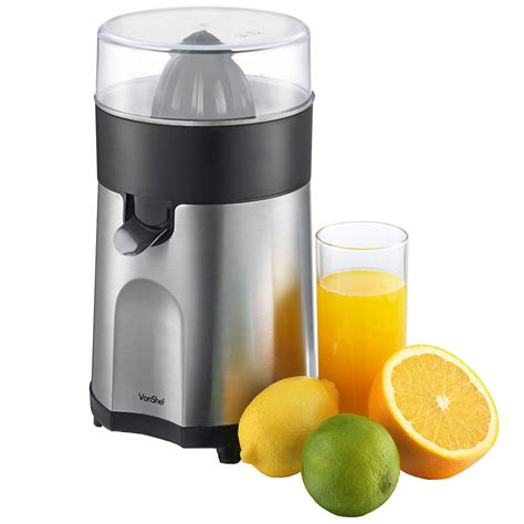vonshef citrus fruit juicer electric press juice extractor 85w ebay