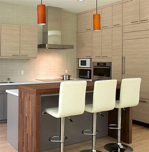 kitchen bars design contemporary wooden kitchen bar design decoist