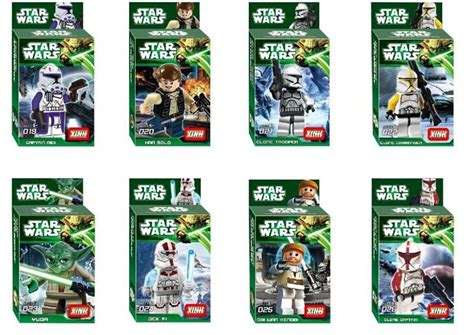 spielzeugsack lego wars yoda sith trooper admiral ackbar building blocks