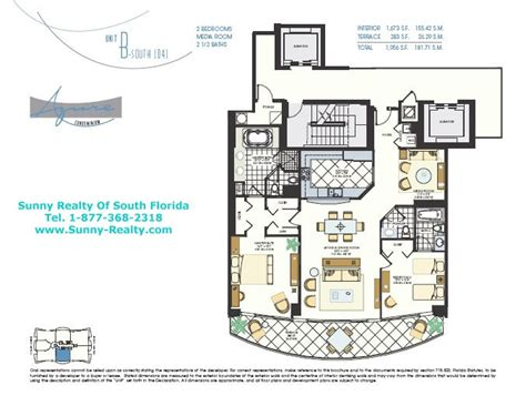 azure floor plan azure surfside condo florida 9401 collins ave miami