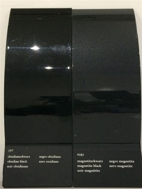 obsidian color 100 obsidian color chart full depth coloured