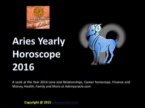 new year horoscope 2016 toronto aries yearly horoscope 2016