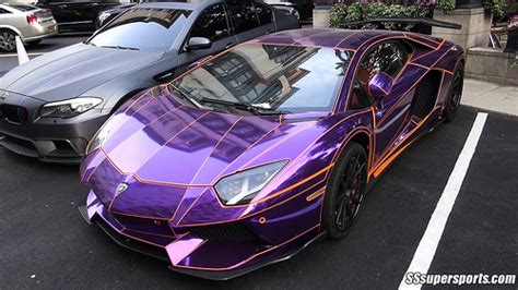 Lamborghini Purple Chrome Chrome Purple Lamborghini Aventador Flickr Photo