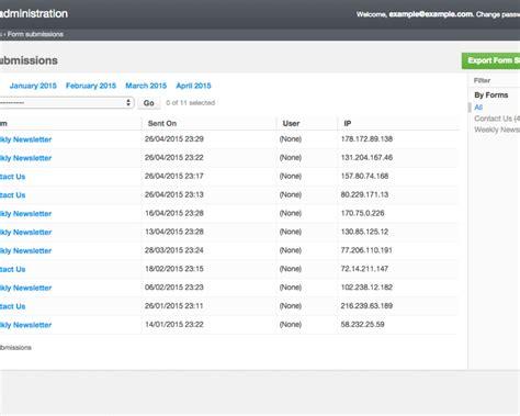 Forms Drag Drop Form Builder V3 4 0 browse addons django cms marketplace