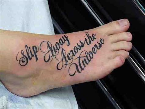 script tattoos for men